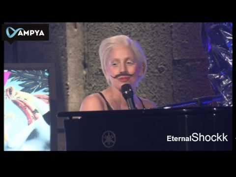 Lady Gaga - Gypsy (Acoustic Piano) Live at The AMPYA [720p HD]