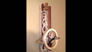 Nautica:  A Wooden Gear Clock