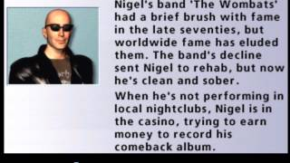 Hoyle Casino 2008 - Nigel quotes