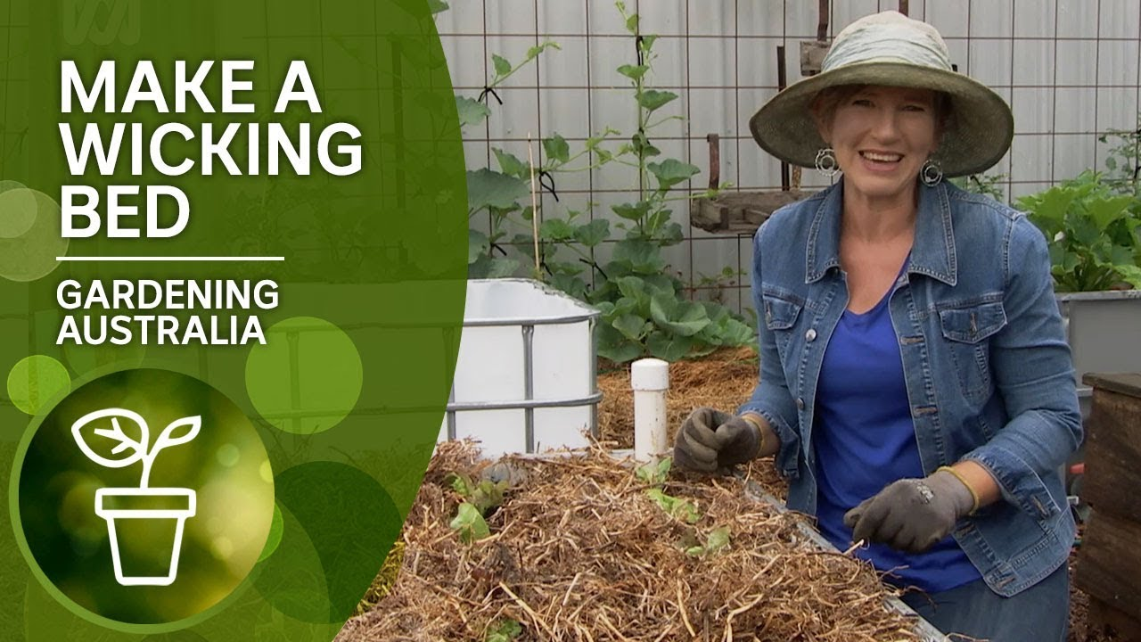How To Make A Wicking Bed Youtube