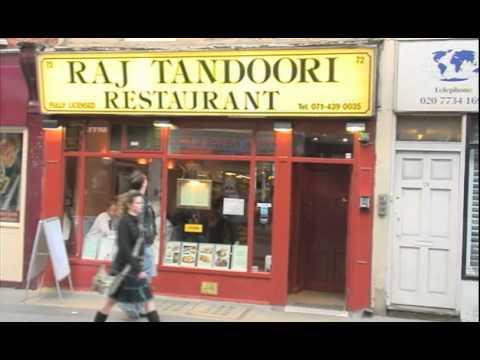 Raj Tandoori 72 Berwick Street, Soho, London W1F 8TD