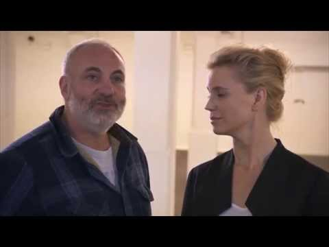 Sofia Helin and Kim Bodnia interviewed backstage at Nordicana