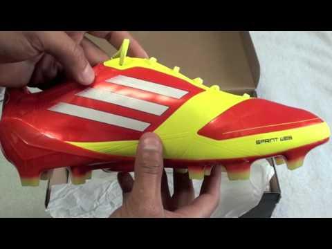 Adidas F50 Adizero TRX FG (High Energy/Electricity) Unboxing! [HD]