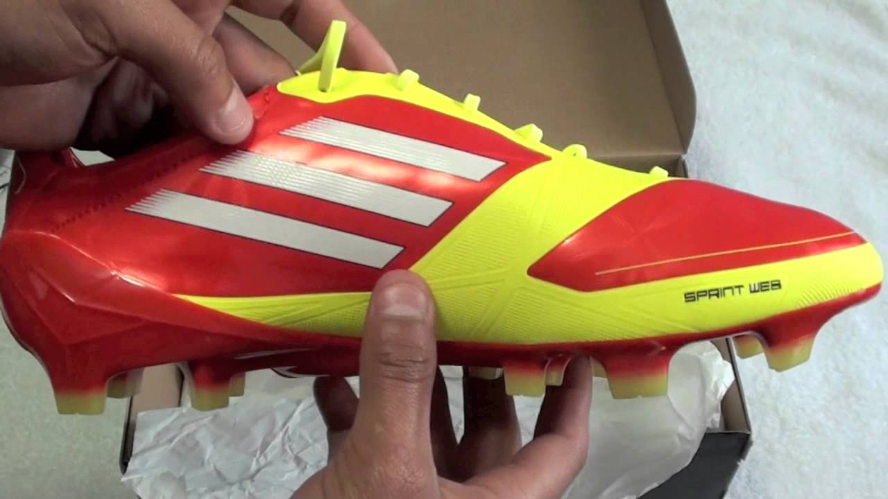the latest 5f5da 58e6d Adidas F50 Adizero TRX FG (High EnergyElectricity) Unboxing! HD - YouTube