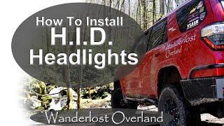 How To Install HID Headlight Kit