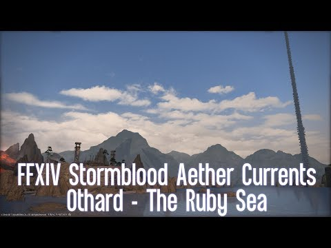 FFXIV Stormblood Aether Currents: The Ruby Sea
