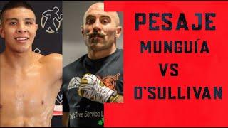 Ceremonia de Pesaje | Jaime Munguía vs Gary O' Sullivan