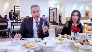 Oriflame Liderlərinin Dinamo Hoteldə keçirilən səhər yeməyindən görüntülər
