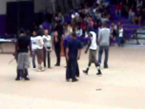 Eastside High School-Senior Olympics Push Up Contest. 4202011