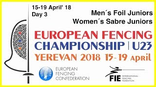 Day 03 2018 European fencing championships U23 - Yellow