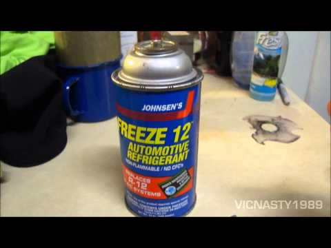 Johnsen's Freeze 12 (Freon R-12 Substitute)-What Do You Think?