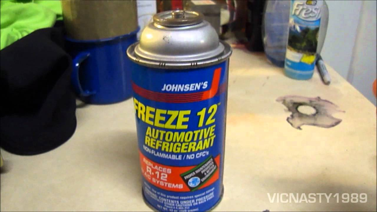 Johnsen S Freeze 12 Freon R 12 Substitute What Do You