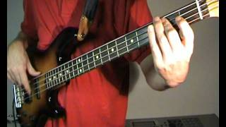 Creedence Clearwater Revival - Travelin Band - Bass Cover