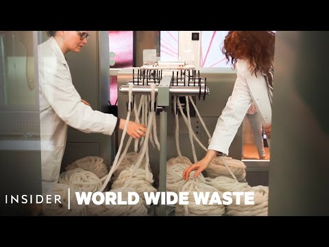 How H&M's Recycling Machines Make New Clothes From Used Apparel   World Wide Waste
