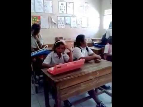 Pianika and Dengung Lagu Mojang Priangan Siswa kelas 6 Cilimbangan