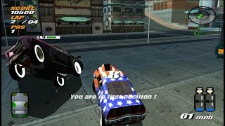 Destruction Derby Arenas PS2 Gameplay HD (PCSX2)