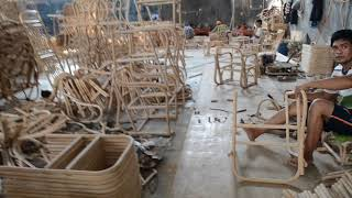 Rattan Furniture Production Video   Karya Rattan Cirebon
