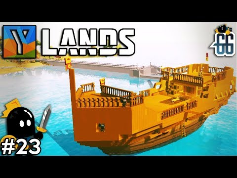 Ylands - SAILING THE LARGEST SHIP IN YLANDS! -  EP23