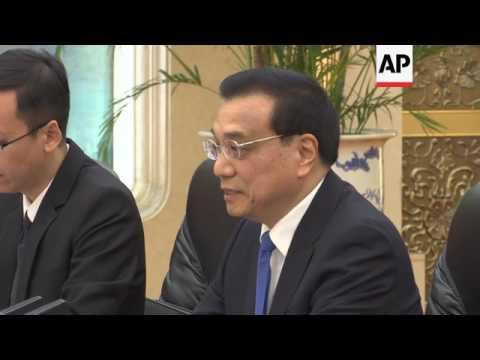 Saudi King meets Chinese Premier