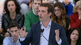 """Casado ve a Sánchez como """"el presidente más radical"""""""