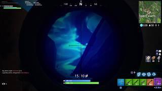 Using the new thermal scoped ar - new fortnite gun gameplay