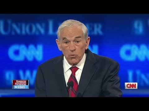 CNN: Ron Paul explains position on wars