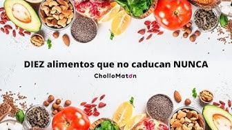Imagen del video: NUTRICIÓN: ¿Sabías que estos diez alimentos no caducan NUNCA?