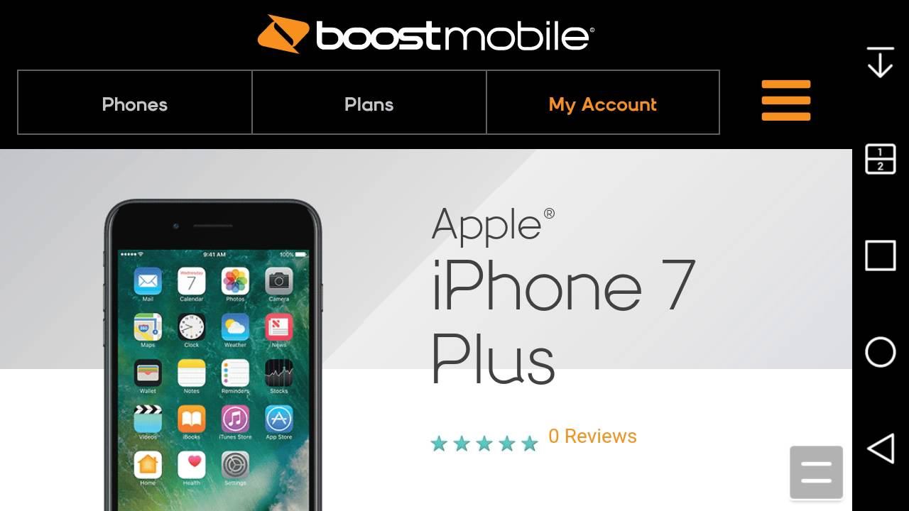 How Much Is A Iphone  At Boost Mobile
