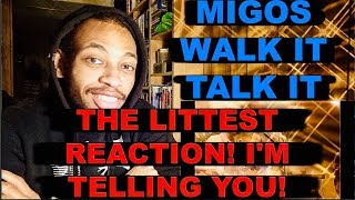 REACTING TO Migos - WALK IT TALK IT (OFFICIAL MUSIC VIDEO) CLASSY !!!