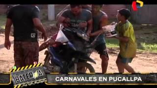 El carnaval de Pucallpa: Ojany se divirtió a lo grande en la selva peruana