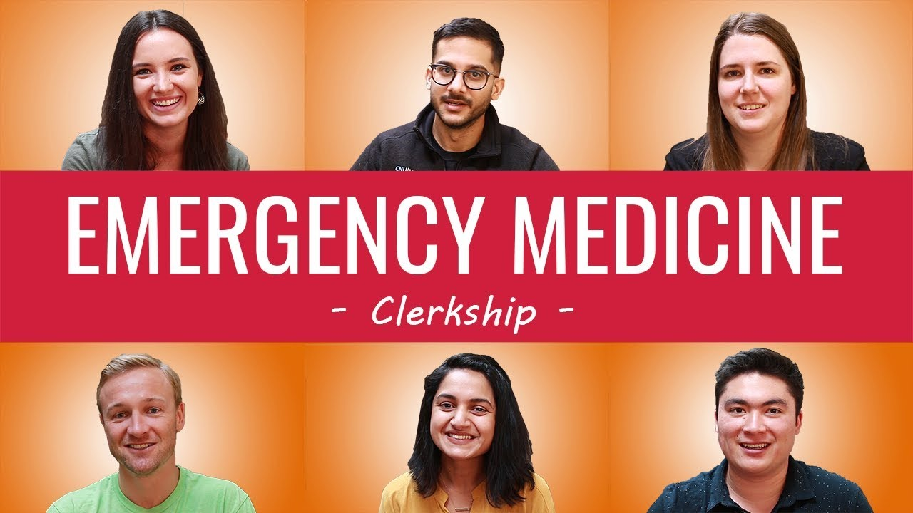 HOW TO ACE EMERGENCY MEDICINE ROTATIONS | Best Study Resources, Routine,  Honor Third Year Clerkships