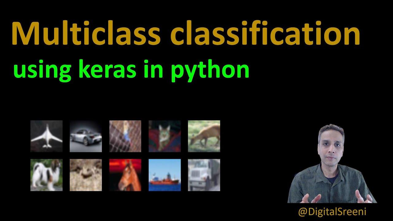 Multiclass Classification using Keras