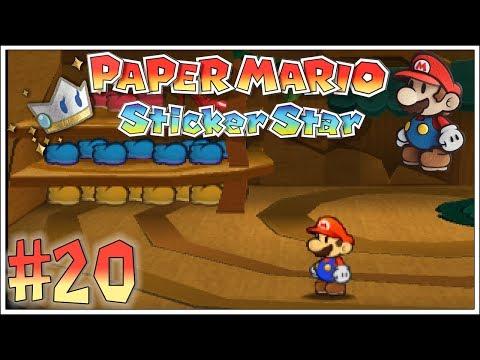 PAPER MARIO STICKER STAR #20 ☆ Wigglers Wohnbaum ☆ Let's Play Paper Mario Sticker Star