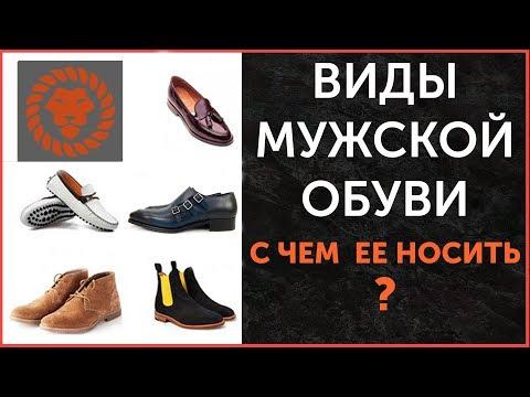Виды мужской обуви. С чем носить, советы. Стильная мужская обувь.