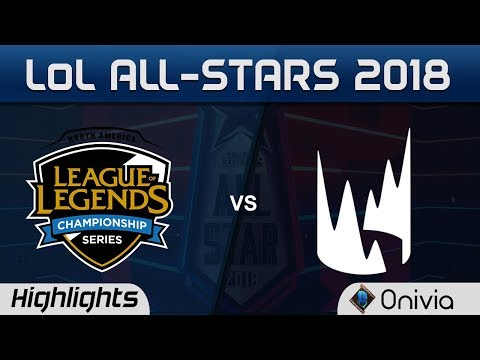 NA vs EU Highlights LoL All Stars 2018