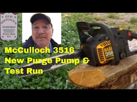 McCulloch 3516