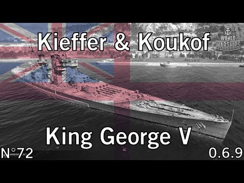 World of Warships - 0.6.9 - King George V - Aurore boréale - HD