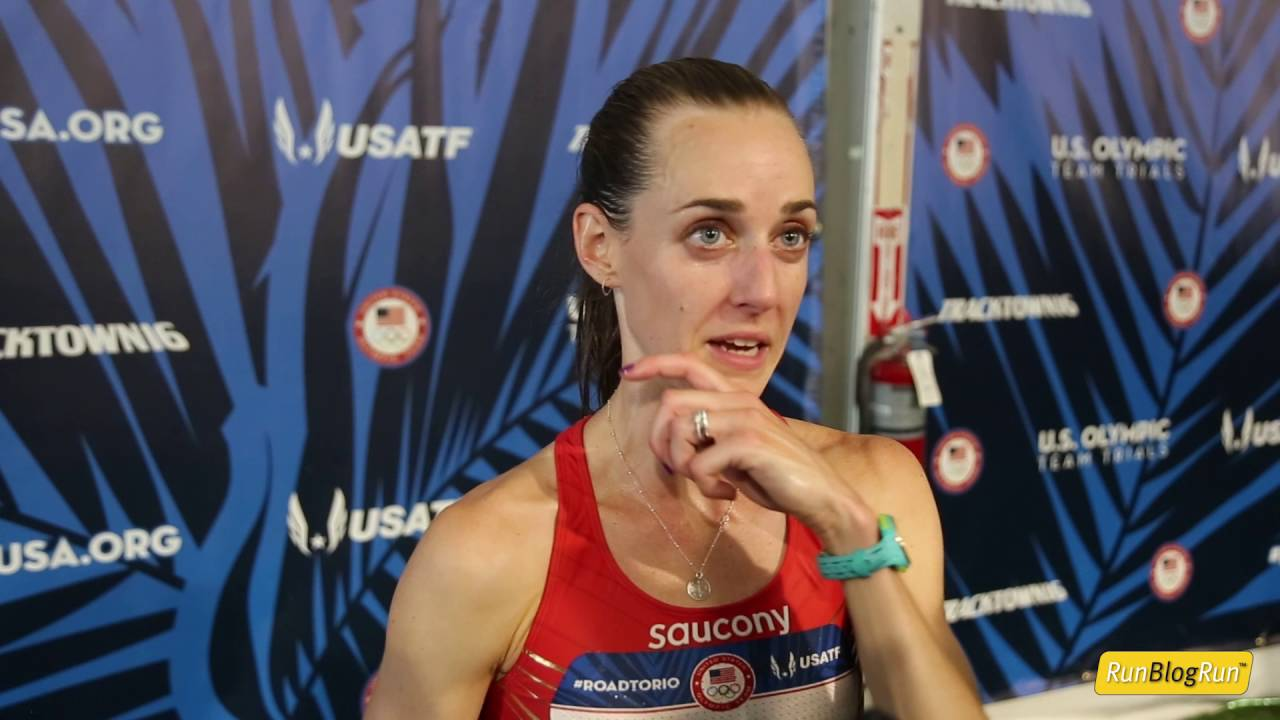 Molly Huddle @ 2016 USA Olympic Trials day 7