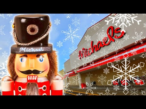 CHRISTMAS 2019 At MICHAELS Crafts Store - Canton Ohio