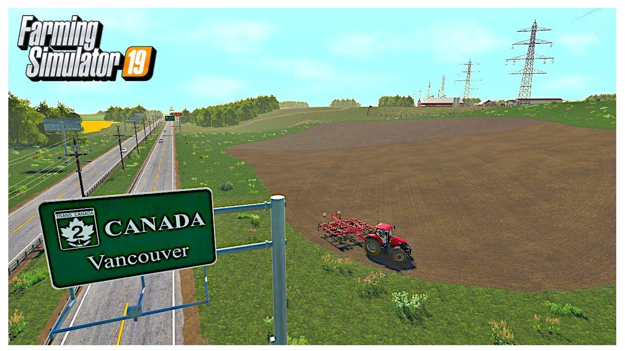 NEW FARM SETUP AND WALKTHROUGH | Somewhere Canada