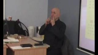 "Уроки ДАО У02 Лекция в Университете: ""Цигун-каллиграфия"""