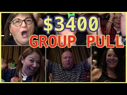 💯🤑💰 Vegas Group Pull ✦ $3400 in HIGH LIMIT ✦  Brian Christopher Slot Machines at Cosmo Las Vegas