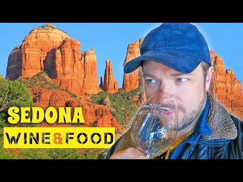 SEDONA VINEYARD TOURS & GREAT FOOD | Arizona Travel Vlogs