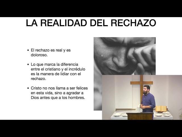El temor al hombre: Samuel García