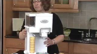 0007   Cuisinart Ice 45 Mix It In Soft Serve 1 12 Quart Ice Cream Maker