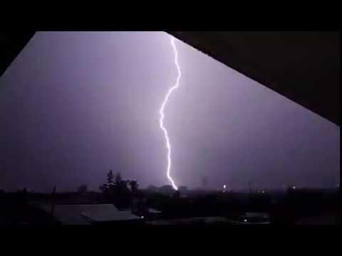 11th Feb 2018 Thunder Storm, Brisbane