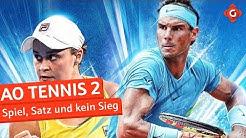 AO Tennis 2: Spiel, Satz und kein Sieg | Review