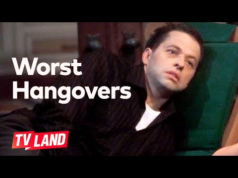 'I'm Never Going To Drink Again.' Worst Hangovers (Compilation)   Two And A Half Men   TV Land