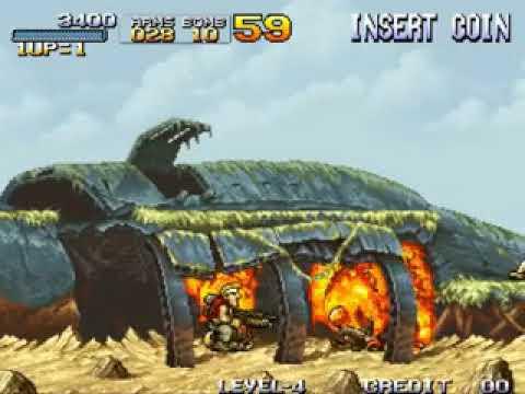 Metal Slug sur SNK Neo Geo