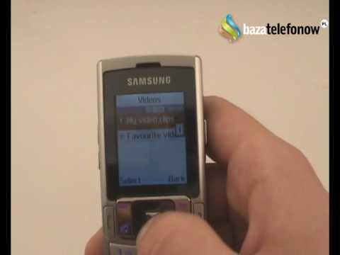 Prezentacja telefonu Samsung SGH-M120